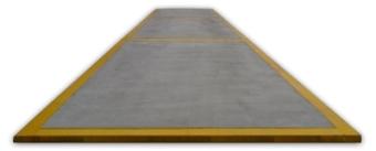 Wersja zagłębiona wagi betonowo-stalowej